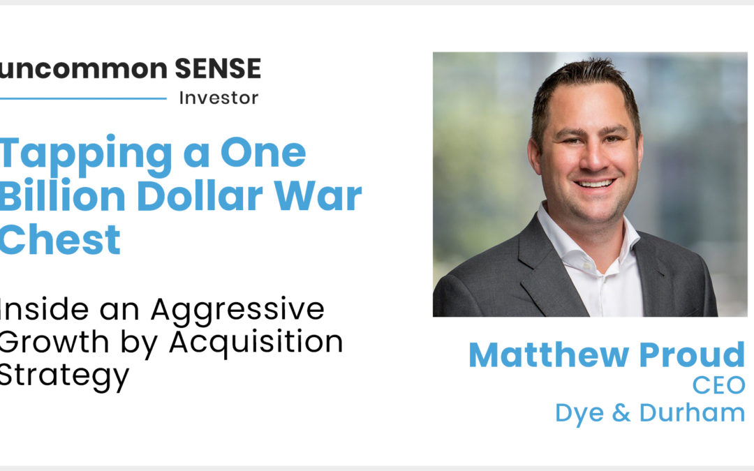 Dye & Durham CEO Tapping $1 Billion War Chest for Aggressive Growth by Acquisition Strategy